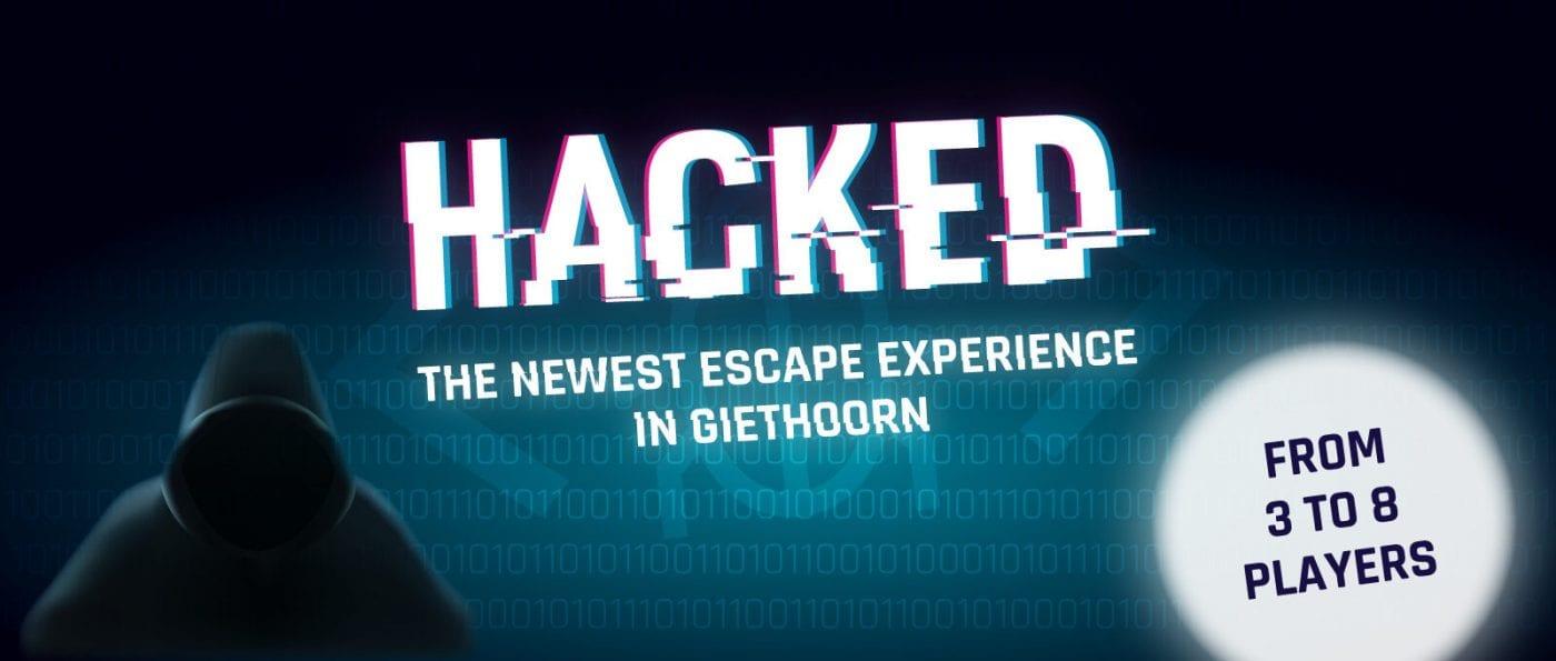 escaperoom hacked in giethoorn