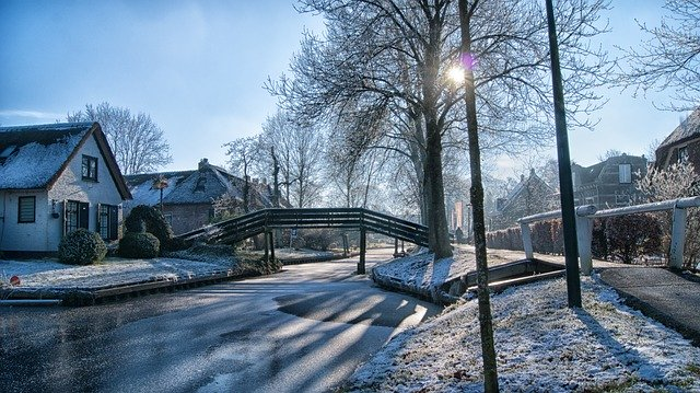 winter in Giethoorn