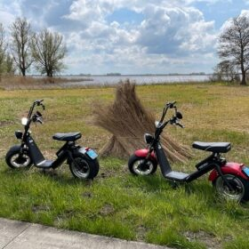 rent a elektric scooter in giethoorn