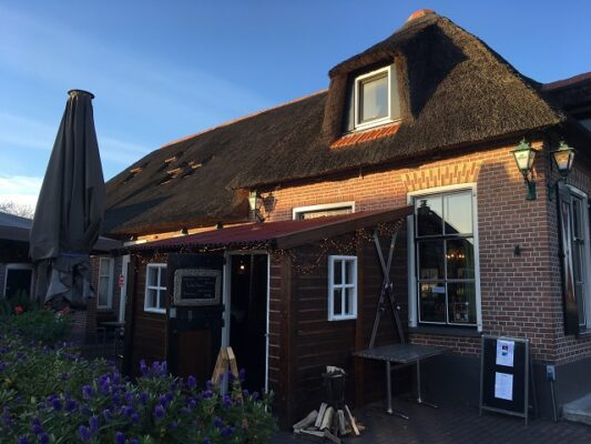 restaurant grand cafe fanfare te Giethoorn
